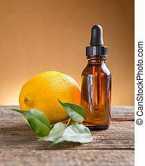 olie, citroen