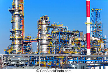 olie en gas, plant
