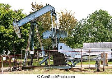 olie industrie, weinig; niet zo(veel), materiaalinstallatie