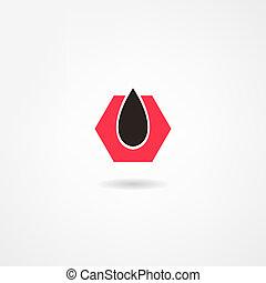 olie, pictogram