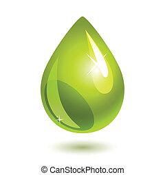 olie waterdruppel