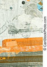 olieverfschilderij, textuur
