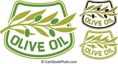 olijvenolie, etiket