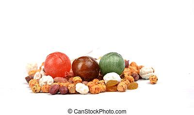 olika, nötter
