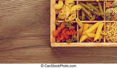 olika, pasta