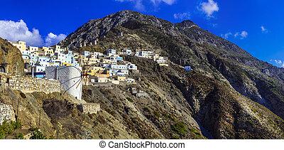 Olimbos in Karpathos island,Greece. - Beautiful...