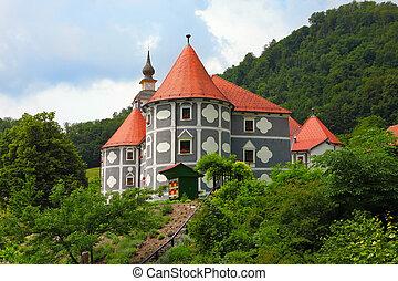olimje, 修道院
