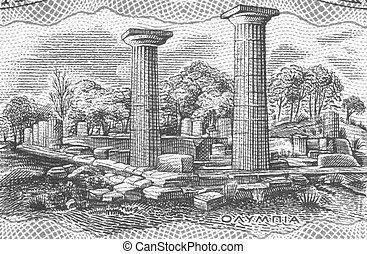 olimpia, antico