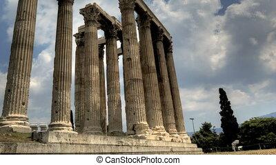 olimpijski zeus, świątynia