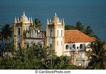 Olinda - Church - Olinda, Brazil - World-wide patrimony of...