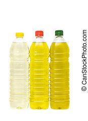 olio, bottiglie
