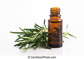 olio, essenziale, rosmarino