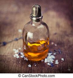 olio, lavanda, massaggio