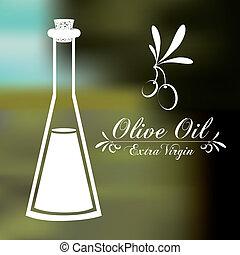olio oliva, disegno
