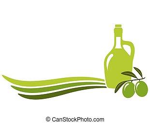 olio oliva, fondo