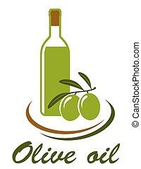 olio oliva, icona
