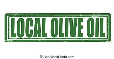 olio oliva, locale