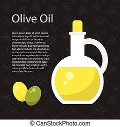 olio oliva, sagoma