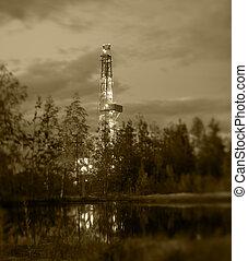 olio, rig., perforazione