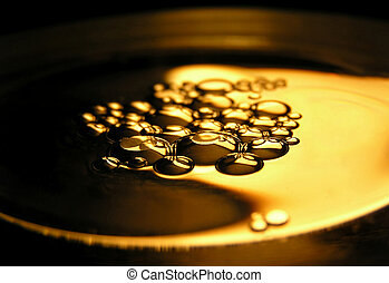 olio, su, acqua