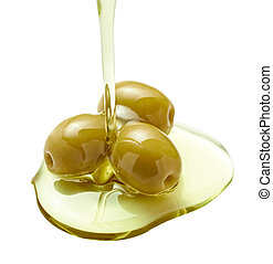 oliva, cibo, olio, condimento, vegeterian