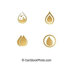 oliva, logotipo, olio, sagoma