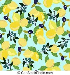 oliva, modello, ogive, branch., limone