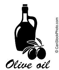 oliva, ogive, olio, ramo
