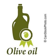 oliva, premio, olio, qualità, bottiglia