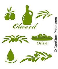 oliva, progetto serie, elementi