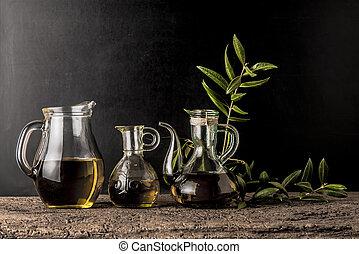 oliva, vergine, extra, olii
