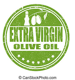 oliva, vergine, olio, extra, francobollo
