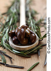 Olive and spices