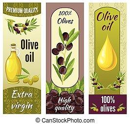 Olive Banner Set