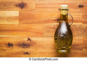 olive, bottle., huile