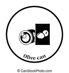 Olive can icon