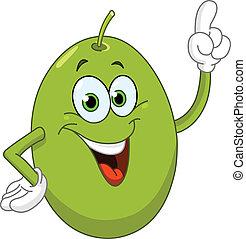 Olive - Cartoon olive