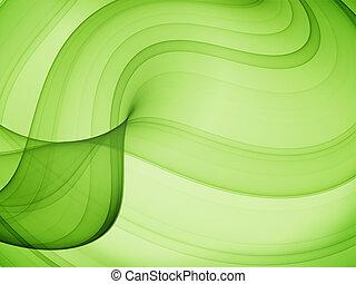 olive curves - high quality computer render