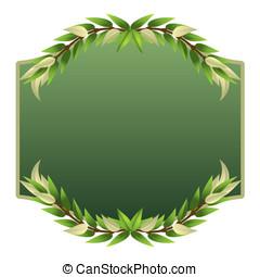 olive, lefa, autocollant