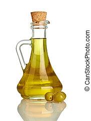 olive, nourriture, huile, condiment, vegeterian