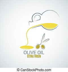 olive oil design vector background 8 eps