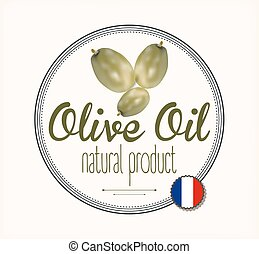 olive oil label France