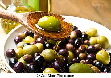olive oil - Olives and Olive Oil