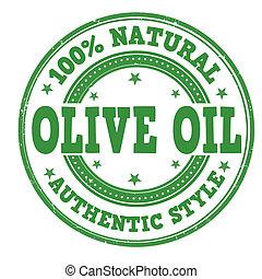 Olive oil stamp
