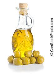 olive, olijven, groene, oil.