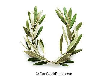 oliwka, wieniec, drzewo