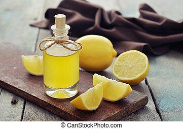 olja, citron