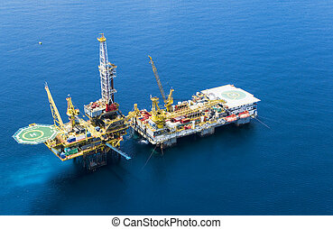 oljeborrplattform