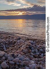 Olkhon Island in Lake Baikal in eastern Siberia.