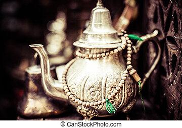 olla té, plata